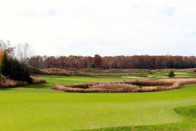 A view from tee #8 at Scotland Run Golf Club