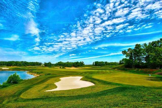 A splendid view from Scotland Run Golf Club