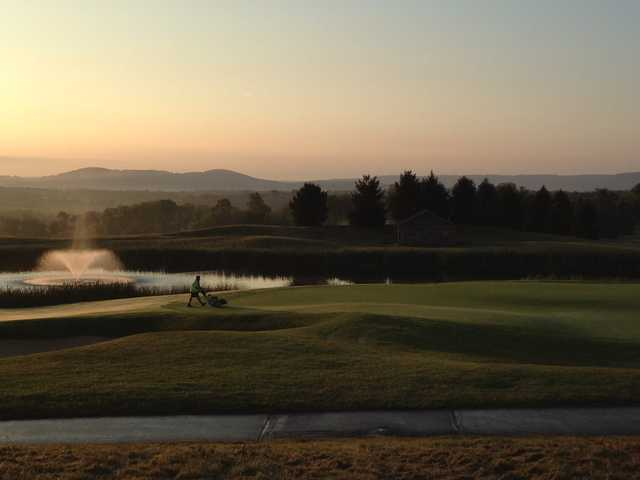 A morning day view from The Architects Golf Club