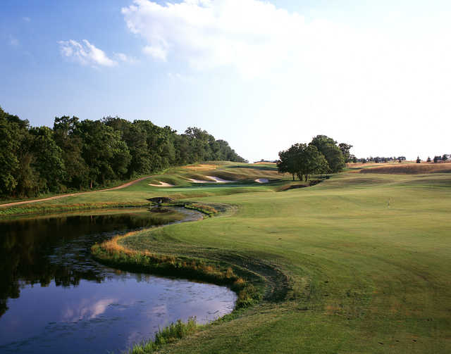 A view of hole #13 at The Architects Golf Club