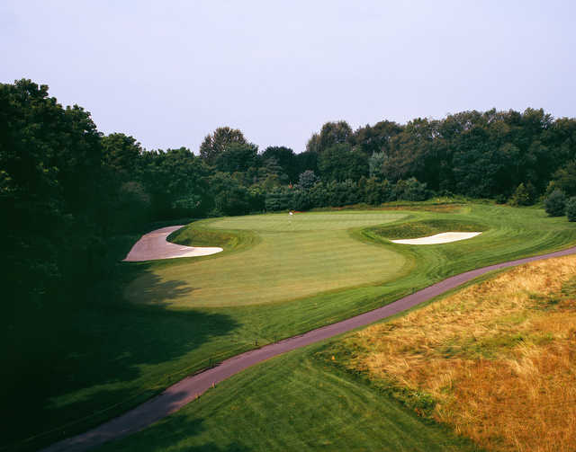 A view the 2nd green at The Architects Golf Club
