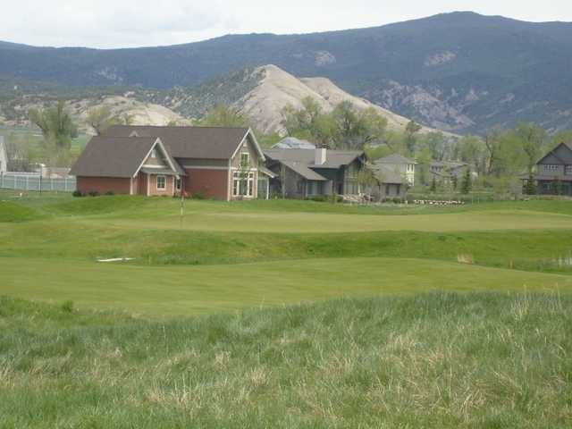 A view of fairway #3 at Eagle Ranch Golf Club