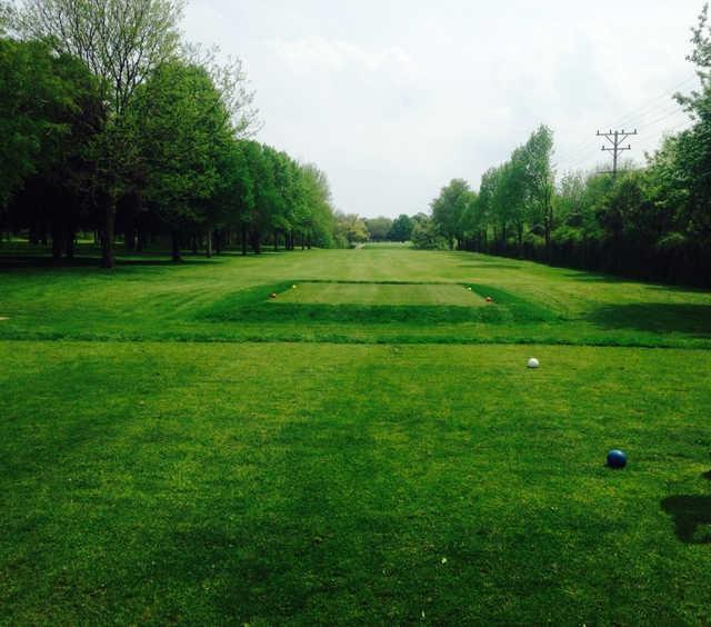 A view from a tee at Washington Park Municipal Golf Course (Alex Unrein)