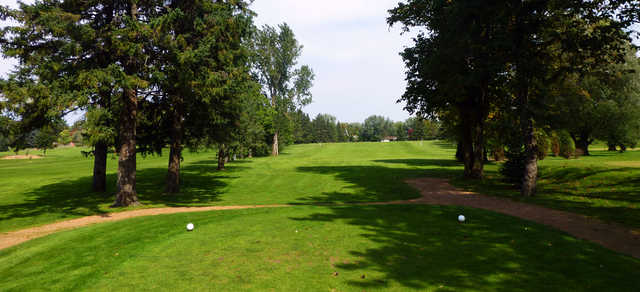 A view from a tee at Tee-Hi Club