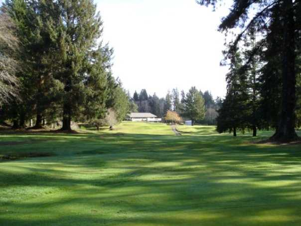 A sunny day view from Highland Golf Course