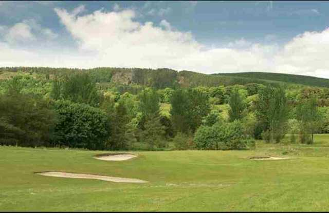 View from Lochore Meadows GC