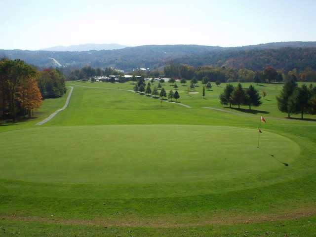 A view of a green at Montpelier Elks Country Club