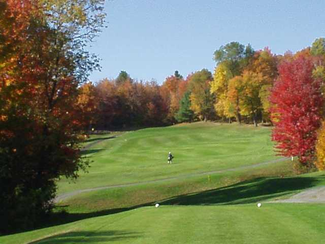 A view from a tee at Montpelier Elks Country Club