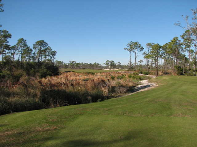 No. 5 at Lost Key Golf Club in Pensacola, Florida, features another forced carry off the tee.