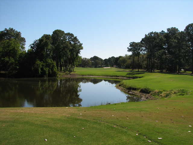 The Meadows course opened in the 1970s, from a design by Willard Byrd.