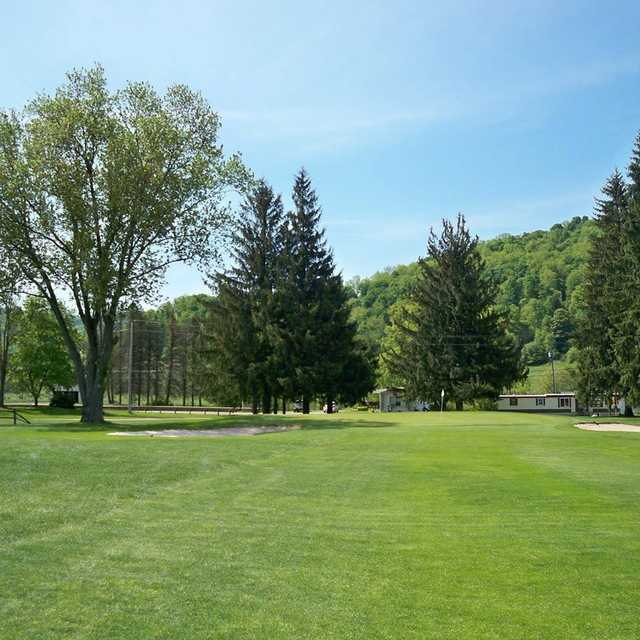 A view of a green at Smethport Country Club