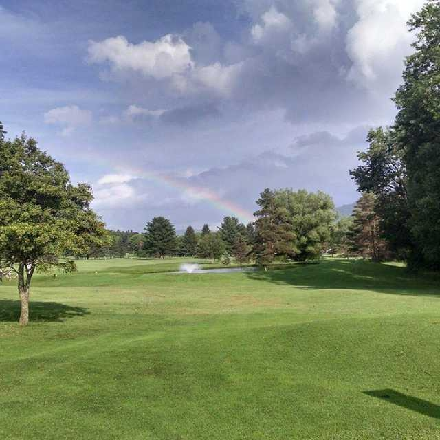 View from Smethport Country Club