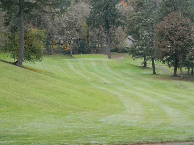 A view of the 3rd fairway at Pineway Golf Club