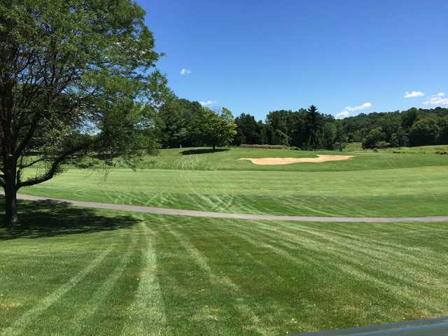 A view from Casperkill Golf Club