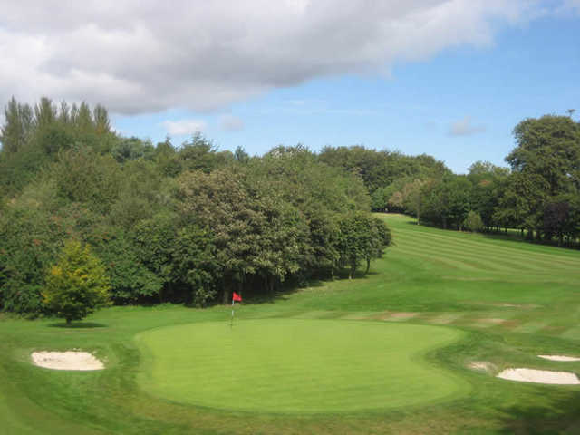 A view of the 3th hole at Balbirnie Park Golf Course