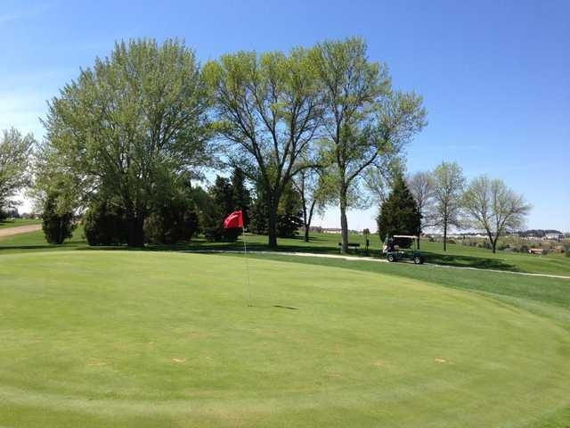 A view of a green at Tom O'Leary Golf Club
