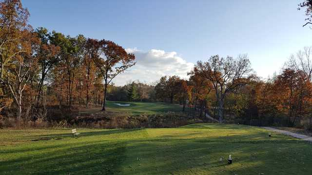 A fall view from Keth Memorial Golf Course
