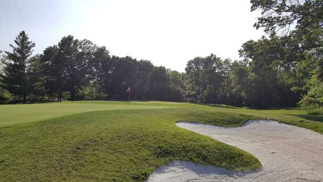 A view of a hole at Keth Memorial Golf Course