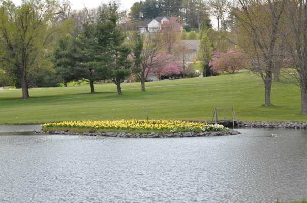A view over the water from Lakeview Golf Club