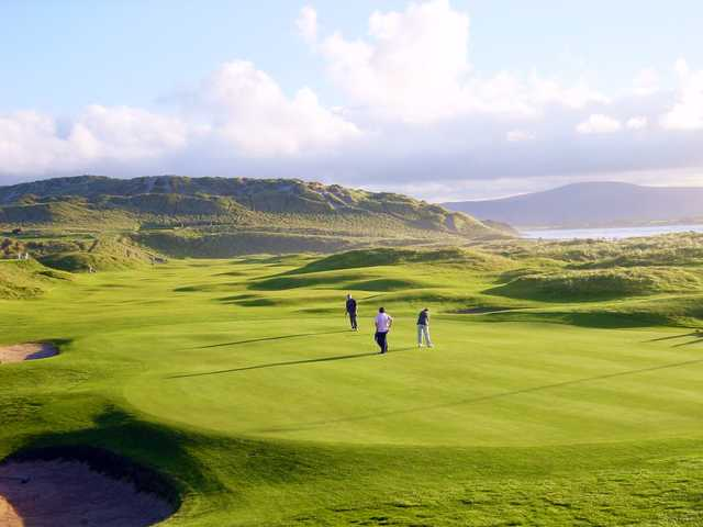 View of a green at Strandhill Golf Course