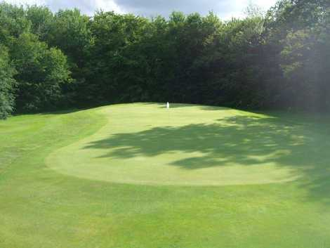 A view of the 5th hole at Stamford Golf Course