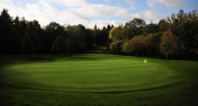 View of the 3rd hole at Llanishen Golf Club