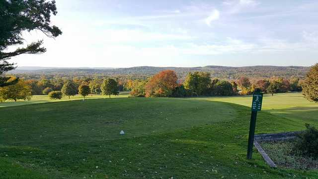 A view of tee #3 at Hickory Hill Golf Course (Rebecca Mynio)