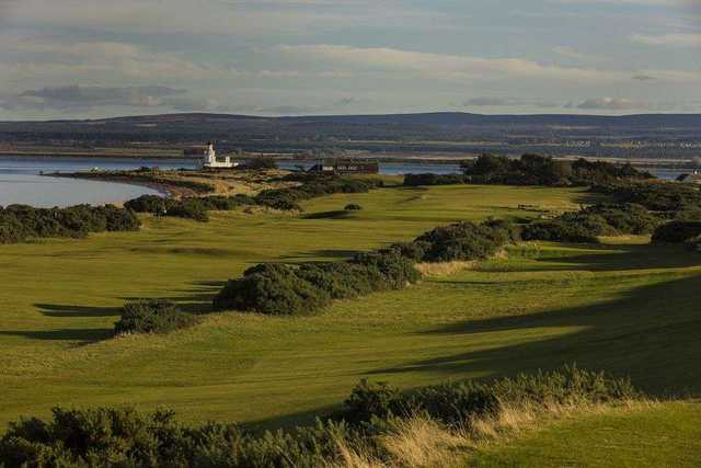View from Fortrose & Rosemarkie Golf Club