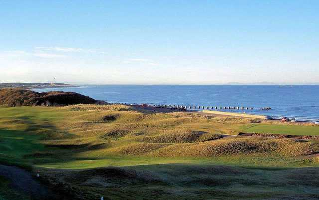 View from Moray Golf Club
