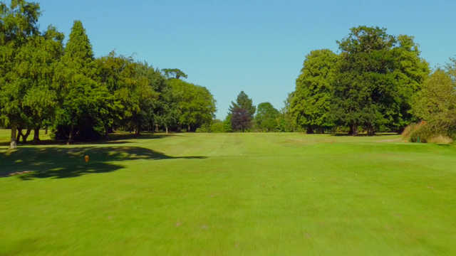 A view from the 8th tee at Exeter Golf & Country Club