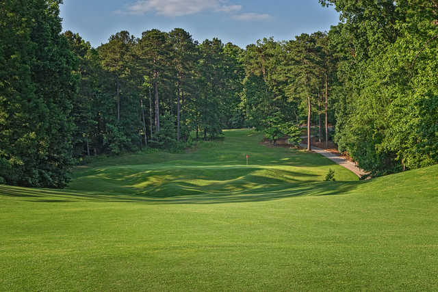 View of the 14th hole from the Lakemont at Stone Mountain Golf Course