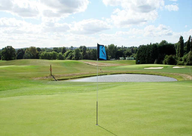 A view of a hole at Academy Course from Letchworth Golf Club