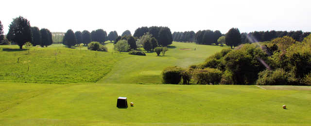 A view from a tee at Weymouth Golf Club