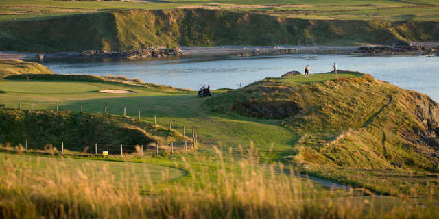 A sunny day view from Nefyn and District Golf Club