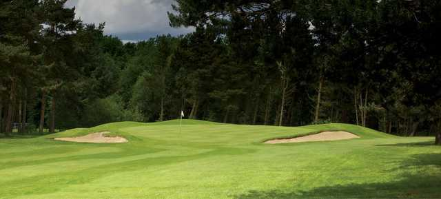 A view of hole #8 at Pannal Golf Club