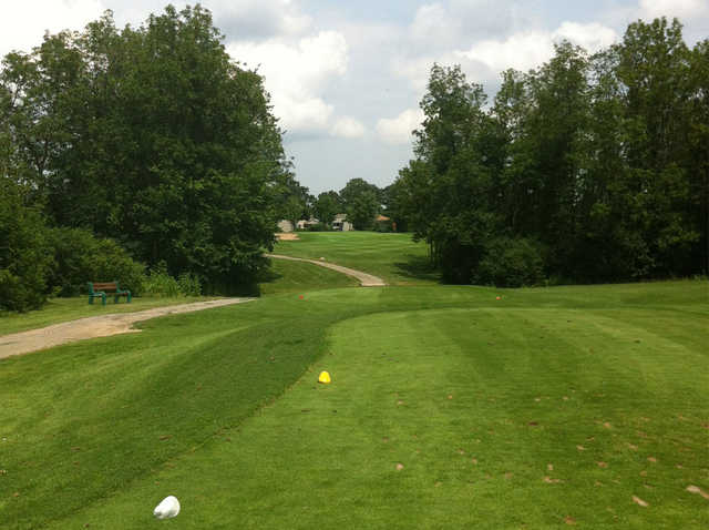 A view from tee #4 at Rolling Meadows Golf and Country Club