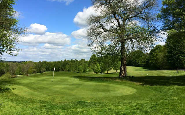 View from Chiddingfold Golf Club