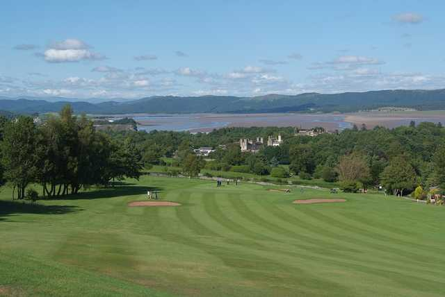 View from Ulverston Golf Club