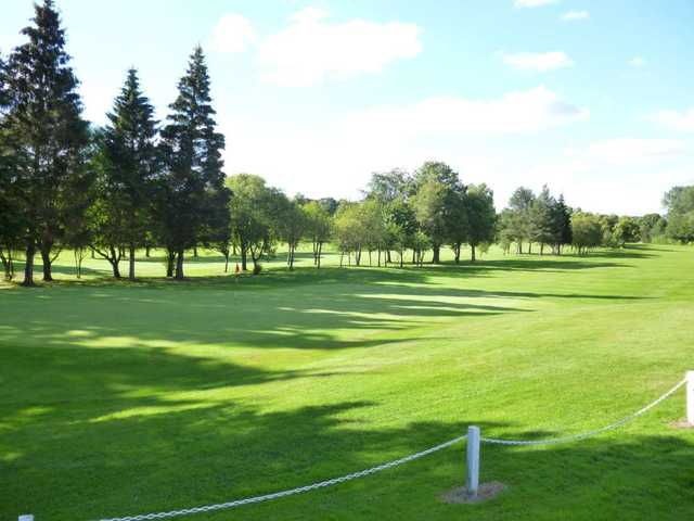 View from Wishaw Golf Club