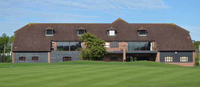 Drayton Park GC: the clubhouse