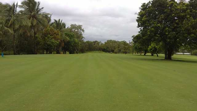 A view from a fairway at Rowes Bay Country Golf Club