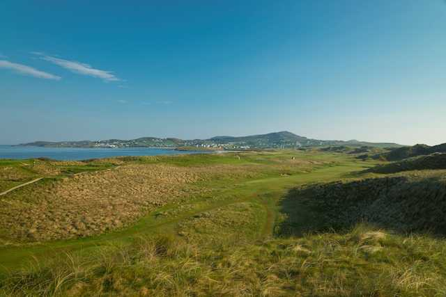 A view from the Old Tom Morris at Rosapenna Hotel and Golf Links
