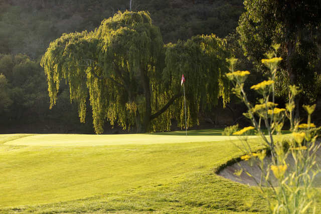 A view of a hole at Ben Brown's Golf Course at The Ranch Laguna Beach