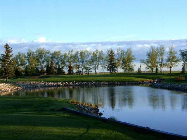 A view over the water from Carstairs Community Golf Club