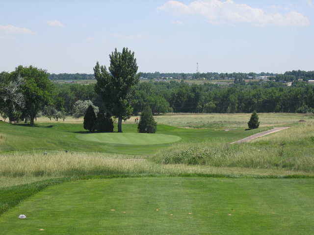A view of hole #11 at Quail Dunes Golf Course