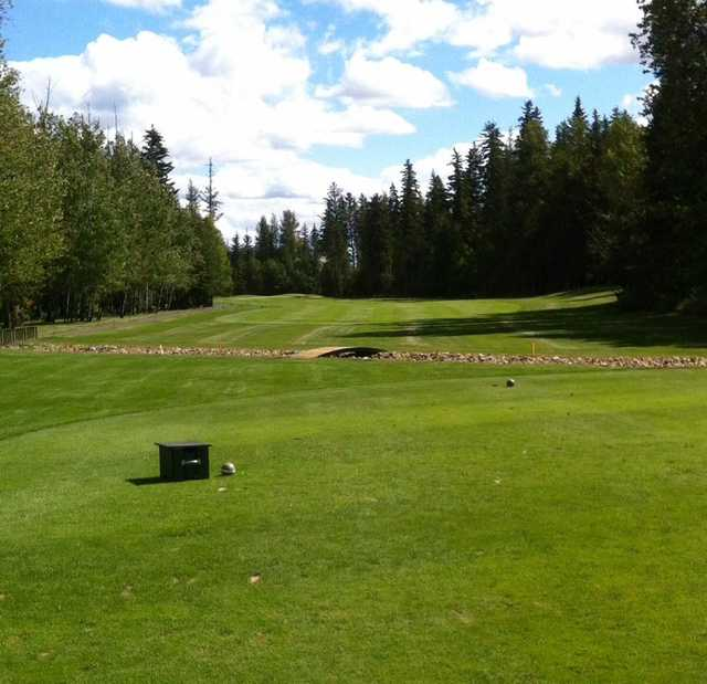 A view from a tee at Grand Centre Golf and Country Club