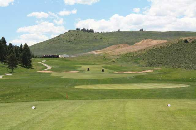 A view from hole #9 at Granby Ranch