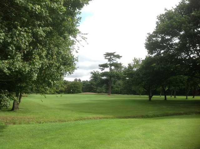 3rd green on the Aldenham Golf Course