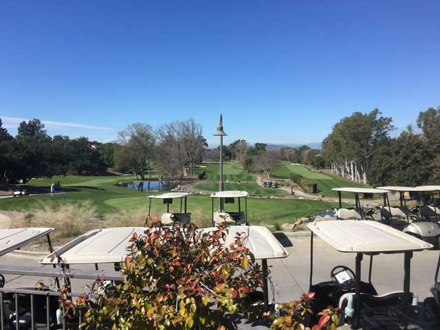View from #18 on Los Robles Greens Golf Course