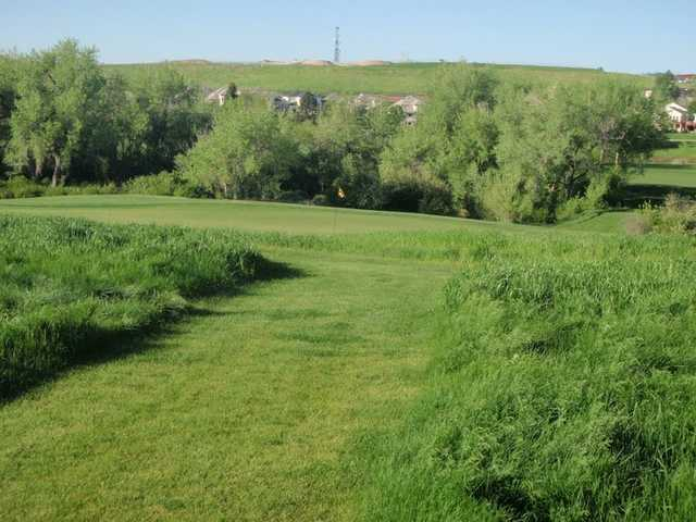A view of hole #16 at South Suburban Golf Course - Eighteen Hole